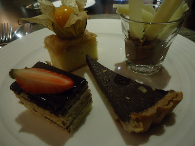 Lady's fourth plate at Petals Restaurant, Rose Rayhaan by Rotana