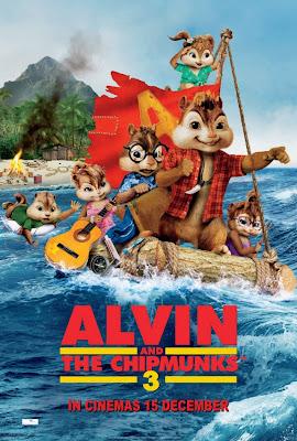 Alvin e os Esquilos 3 Dublado 2011