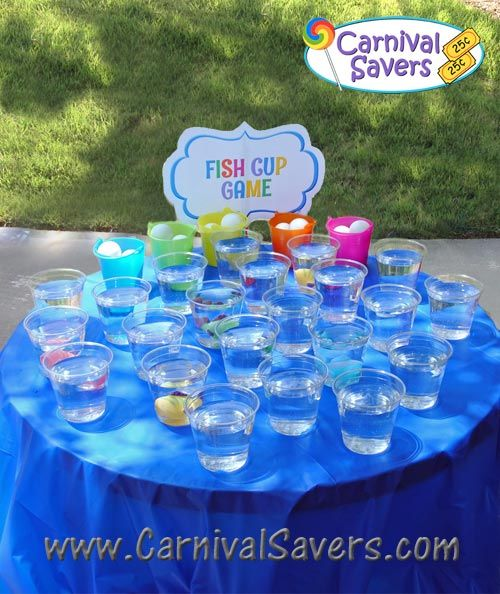 A manda creation fishing party games for Gold fish game