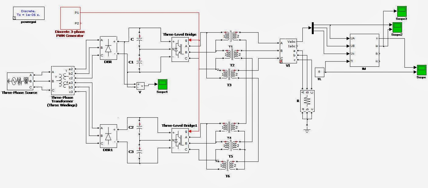 Matlab Electrical Ieee 917207560923 A Series Connected Three Level Discrete Pwm Generator Circuit Schematic Various Techniques Are Presented In This Paper Inverter Topology And Its Control Veried On 75 Hp Sqim Drive
