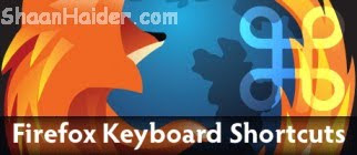 30 Firefox Keyboard Shortcuts