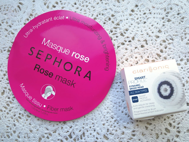 a picture of  Clarisonic Smart Replacement Brush Head & Sephora Collection Rose Mask