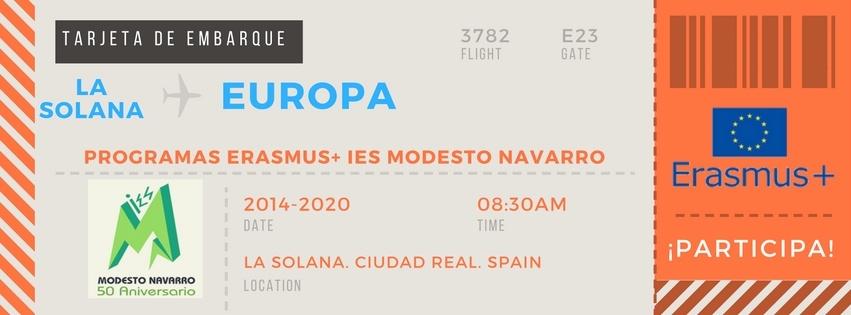 Erasmus+ IES Modesto Navarro