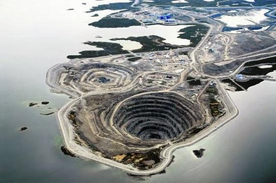 Diavick diamond mine.Canadá