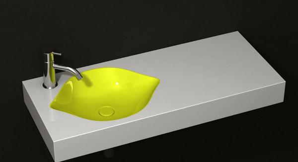 Раковина в виде лимона от CENK KARA