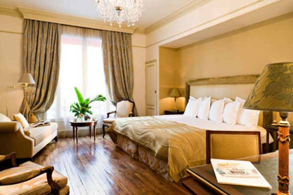 Home design improvement french style bedroom interior for What is a french bed in a hotel