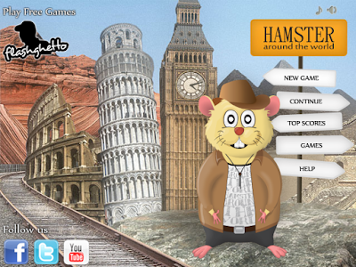 Hamster around the World