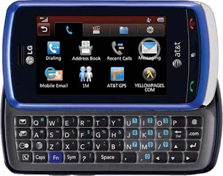 LG Xenon has full QWERTY keypad with touch screen
