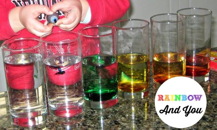Rainbow theme for preschool