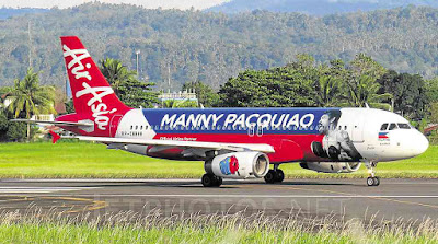 manny pacquiao jet air asia
