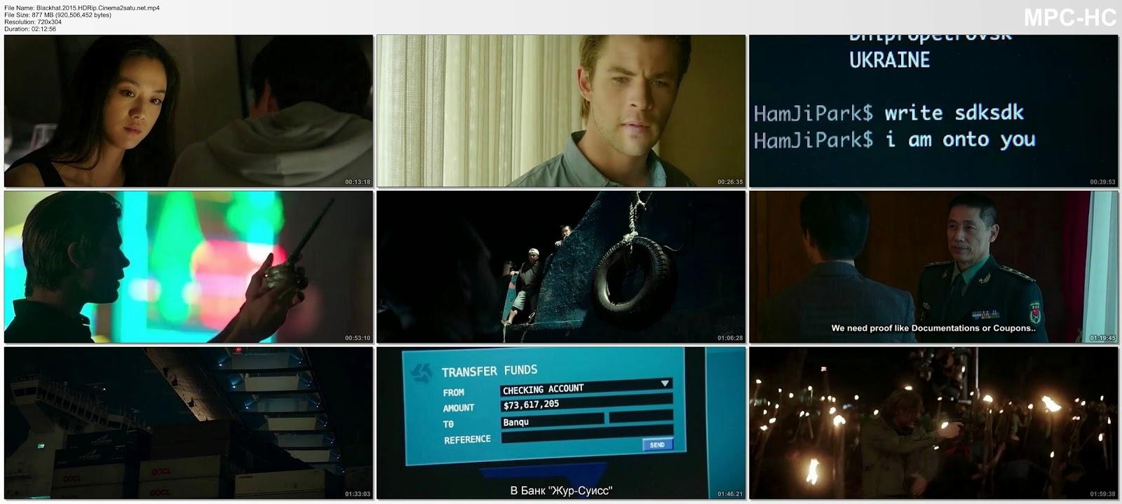 Blackhat 2015 HDRip Subtitle Indonesia