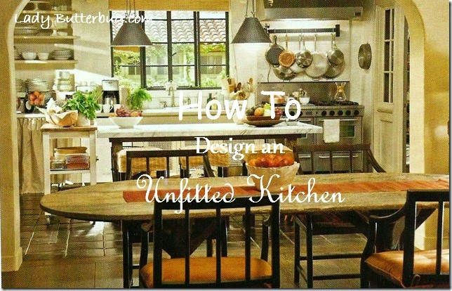 how to design an unfitted kitchen