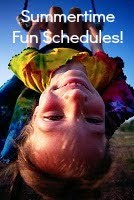 Fun Ways to have a great Summer Schedule!