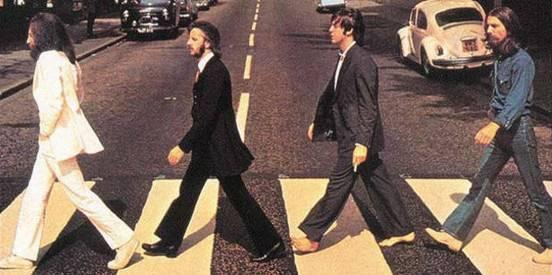 Paso peatones de los Beatles