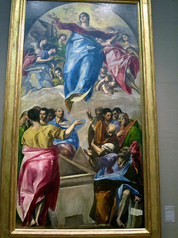 El greco assumption of the virgin