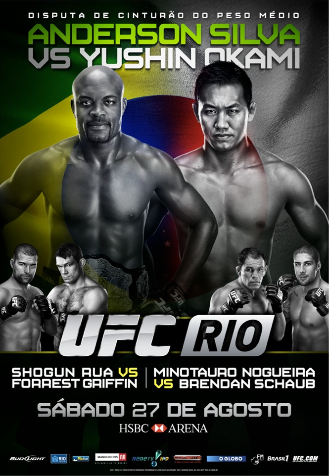 Download UFC RIO 2011 Anderson Silva Vs. Yushin Okami Card Completo