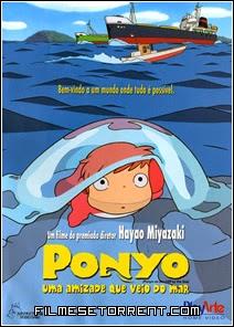 Ponyo Uma Amizade que Veio do Mar Torrent Dublado