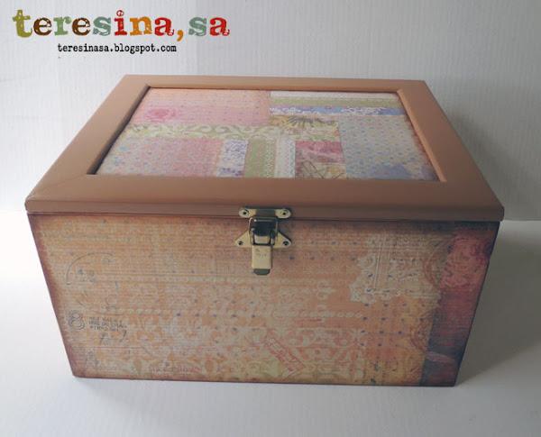 Reciclar cajas de madera aprender manualidades es - Cajas madera manualidades ...