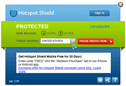 Download Hotspot Shield 2.91 final