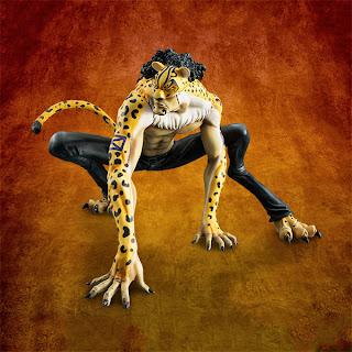 Rob Lucci Ver. Leopard - P.O.P MAS