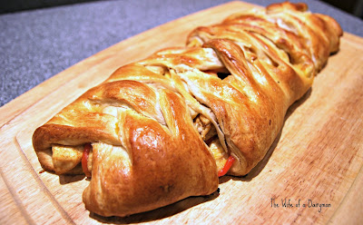 TT w/Linky: Quick &amp; Tasty Chicken Taco Braid
