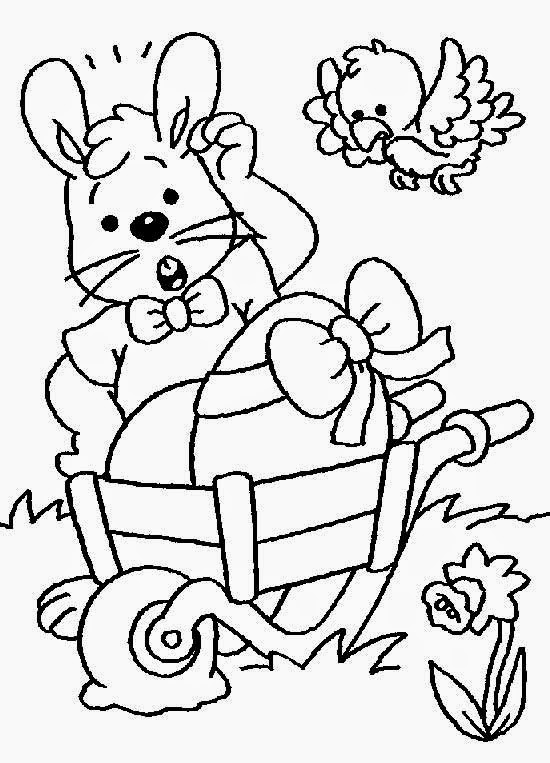 easter clip art coloring pages - photo #31