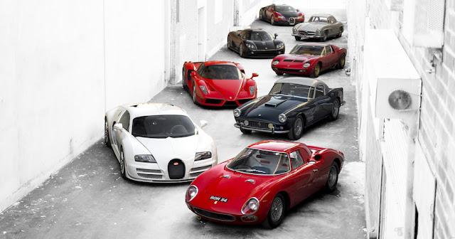 スーパーカーコレクターが所有していた多数の激レアモデルがオークションに出品へ!