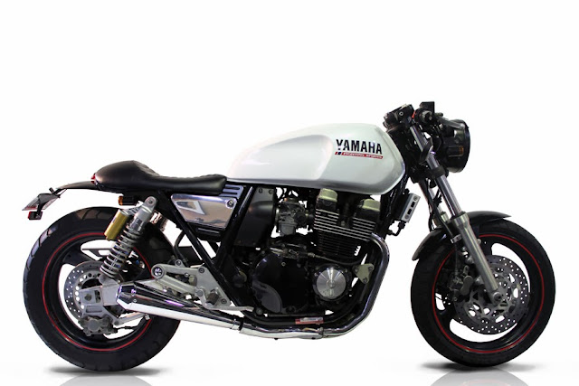Yamaha XJR400 Cafe Racer | Yamaha Cafe Racer | 1995 Yamaha XJR400 Cafe Racer | Yamaha XJR400 | custom Yamaha XJR400 | Yamaha Cafe Racer parts | Yamaha Cafe Racer seat | Yamaha Cafe Racer tank | Yamaha Cafe Racer for sale | way2speed.com