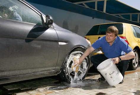 lavar furgoneta
