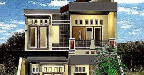rumah lantai 2 minimalis design rumah minimalis