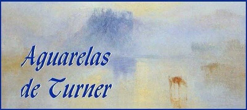Aguarelas de Turner