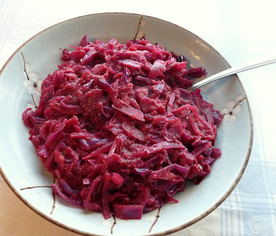 Red Cabbage with Cranberries & Lemon