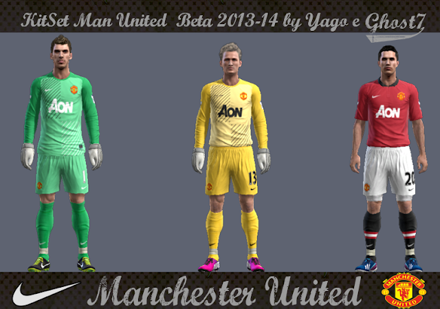 KitSet Man United Beta 2013-14 - PES 2013