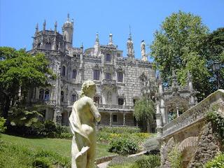 Palacio y Quinta da Regaleira en Sintra, Lisboa