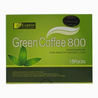 Loss Weight With Leptin Green Coffee 800