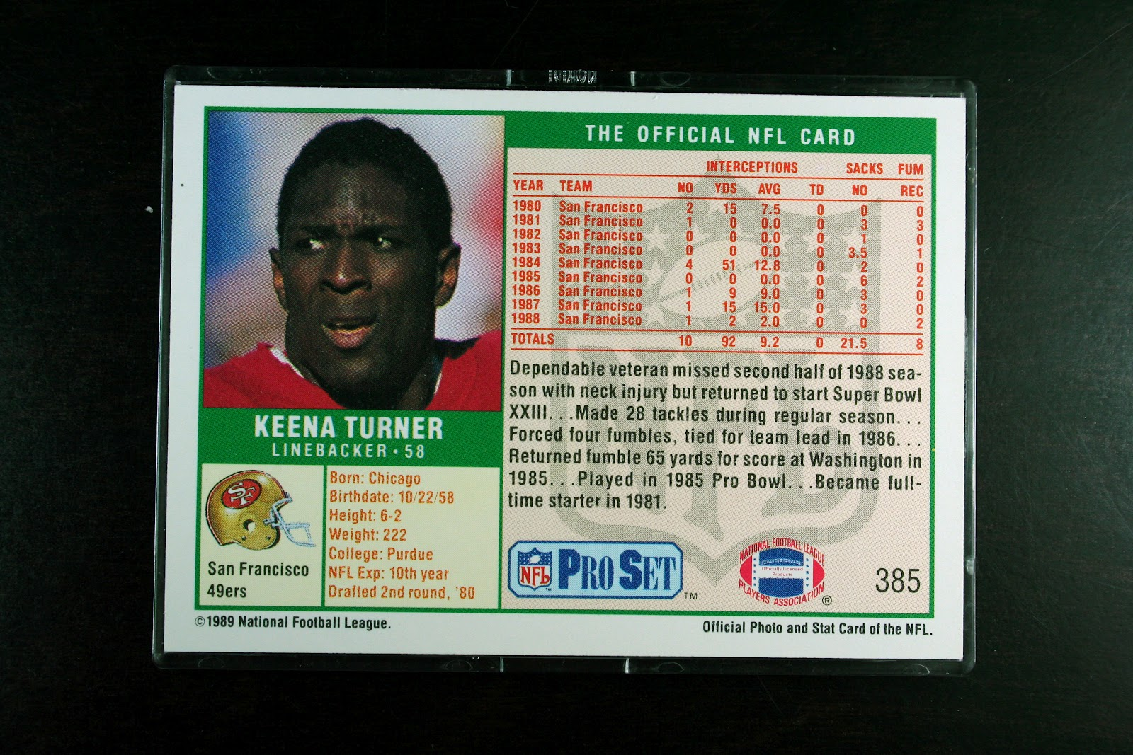 Drafted In The 2nd Round Of 1980 NFL Draft By Miami Dolphins Keena Turner Was Traded On That Same Day To San Francisco 49ers Where He Would Go