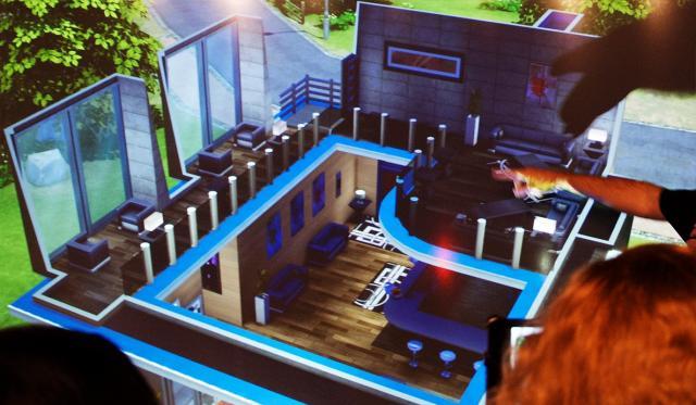 El modo construir y comprar de los sims 4 desde for Planos de casas sims