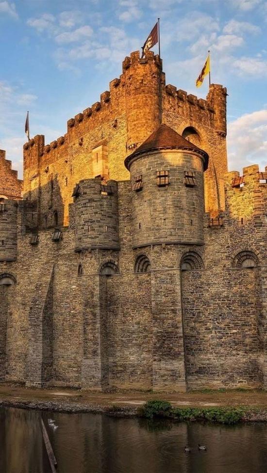 Gravensteen Castle,Ghent,Belgium