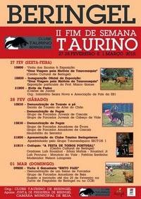 Beringel(Beja)- II Fim de Semana Taurino- 27 Fevereiro a 1 Março
