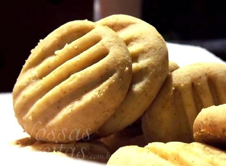 Receita de biscoito de maizana