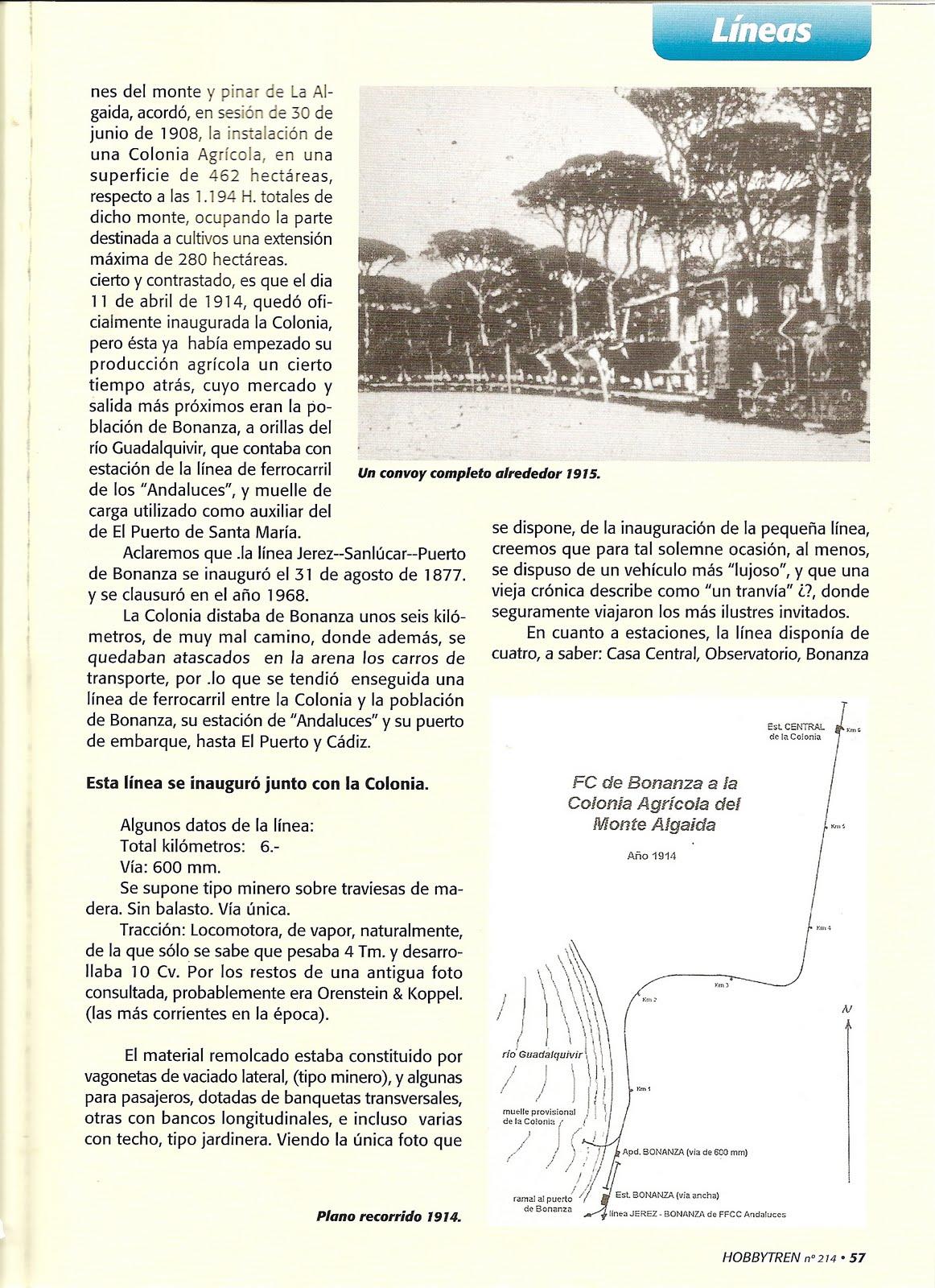 Club ferroviario jerezano revista hobby tren - Estacion de tren puerto de santa maria ...