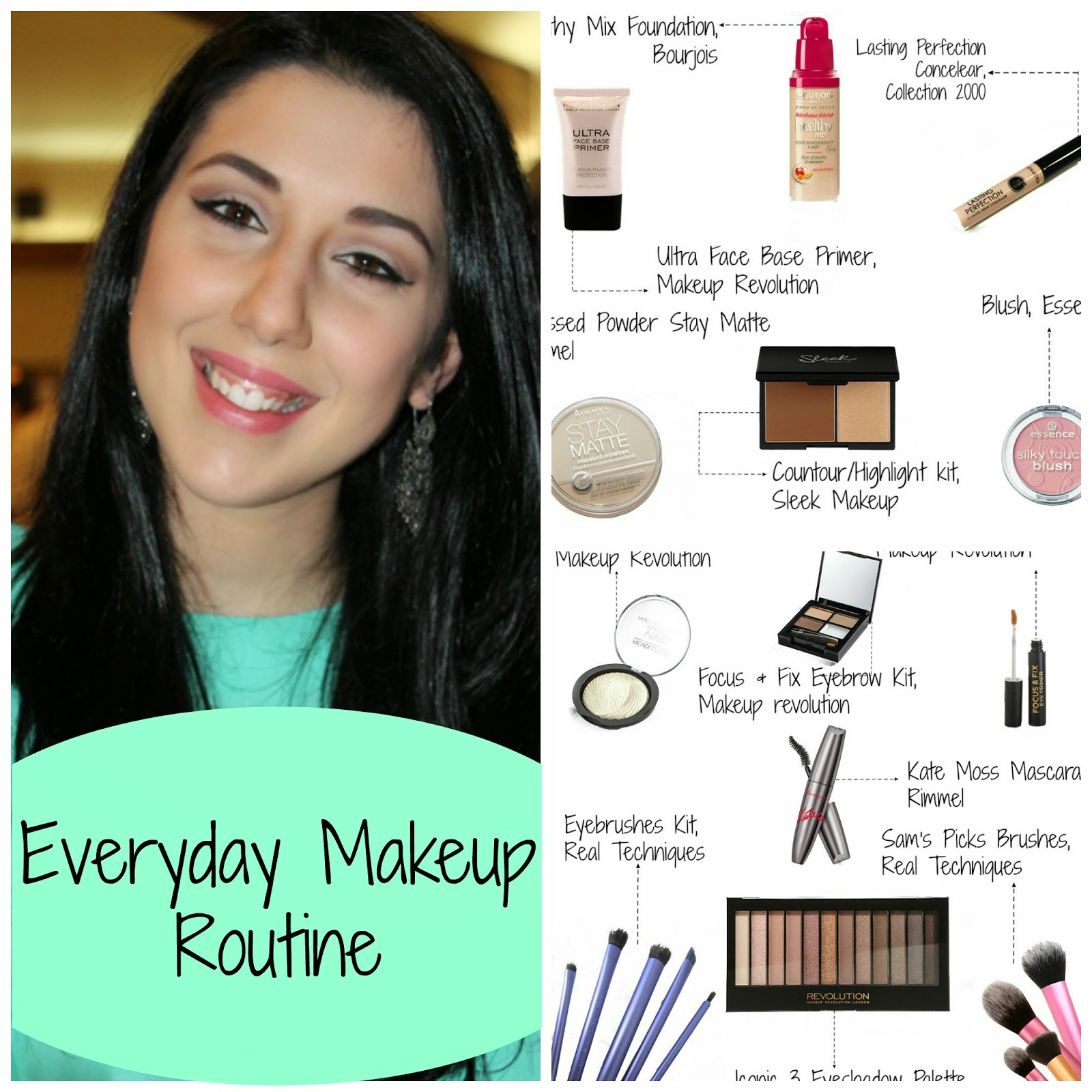 Everyday Makeup Routine Drugstore Only The Lisas World