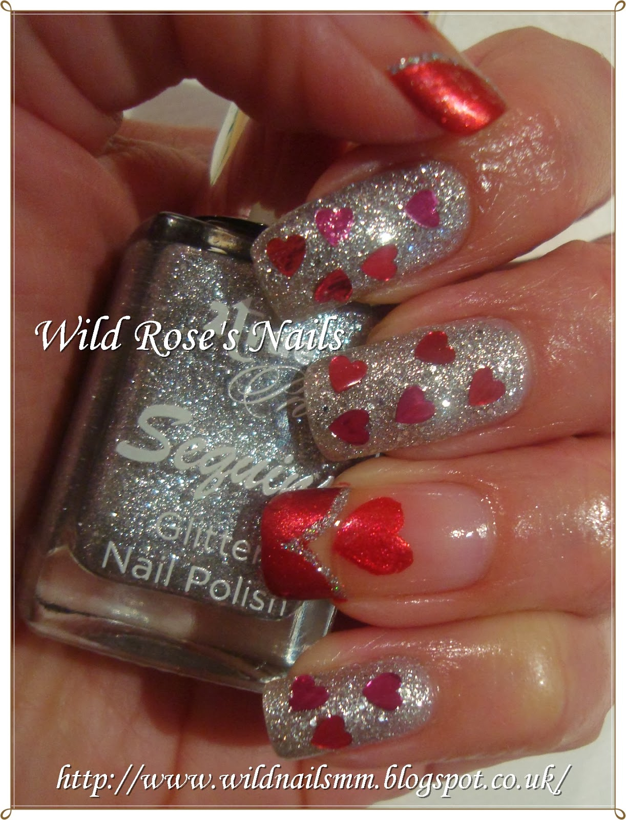Wild Rose\'s Nails: St Valentines Nails