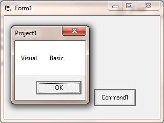 program example using the vbTab constant
