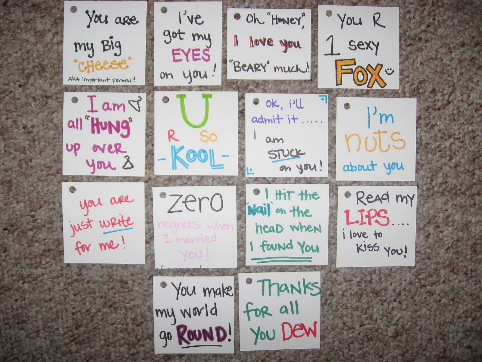 14 days of valentines for your hubby - 14 Days Of Valentines For Him