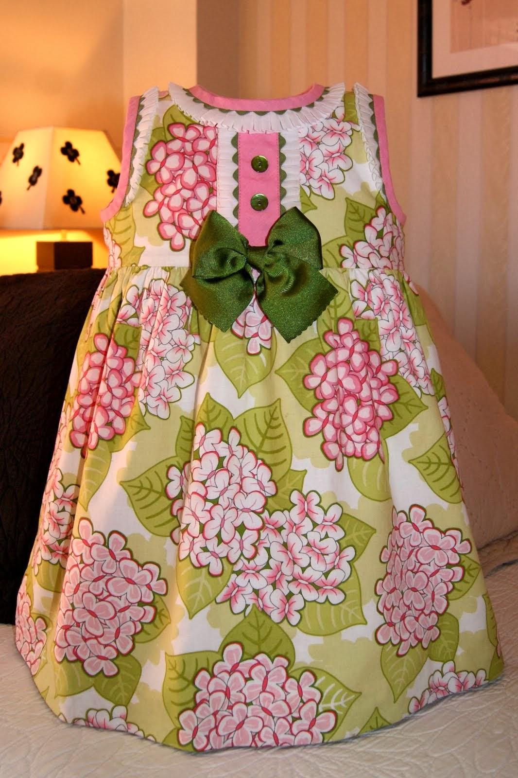 Vestido Pink Blooming Butterflies