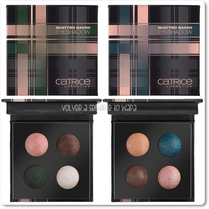 CATRICE - Check & Tweed {Octubre} - Quattro Baked Eyeshadows