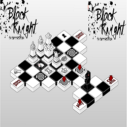 Chess Puzzle Game: Black Knight