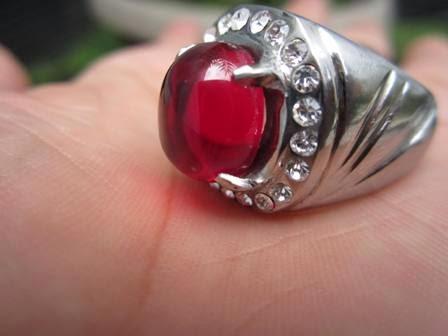 Cara mencari, mengisi batu cincin akik mustika merah delima ASLI