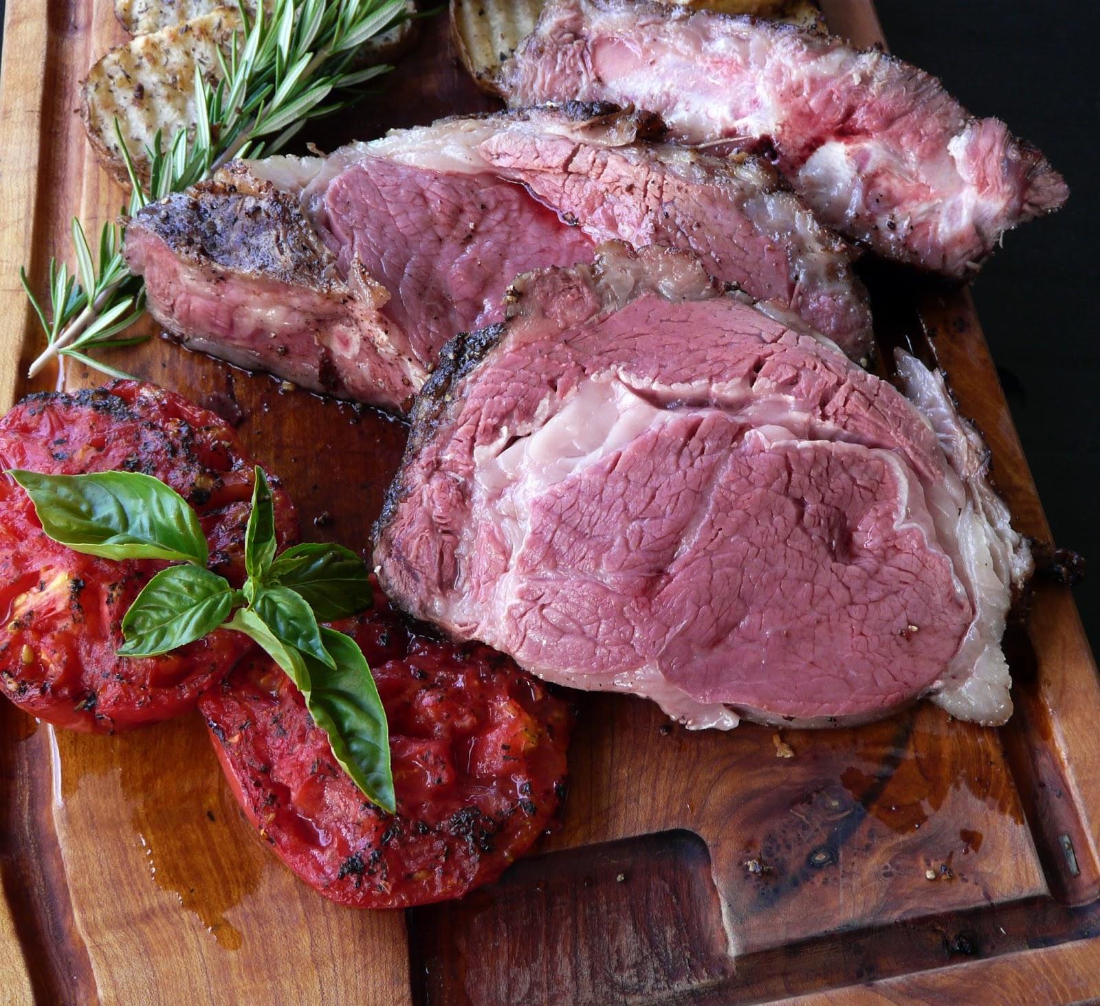Grilled Prime Rib Recipe — Dishmaps